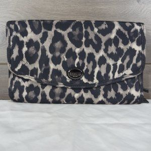 Coach Getaway Leopard Hanging Toiletry Bag